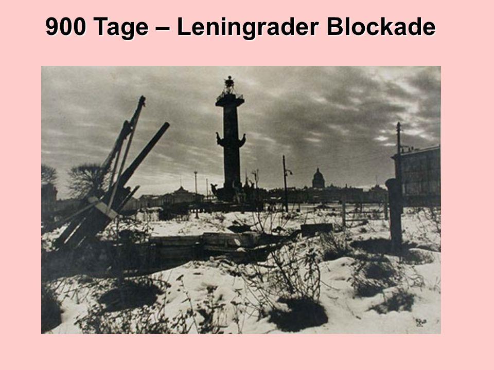 900 Tage – Leningrader Blockade