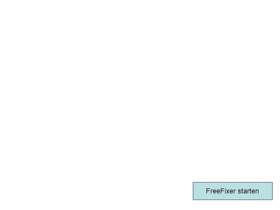 FreeFixer starten