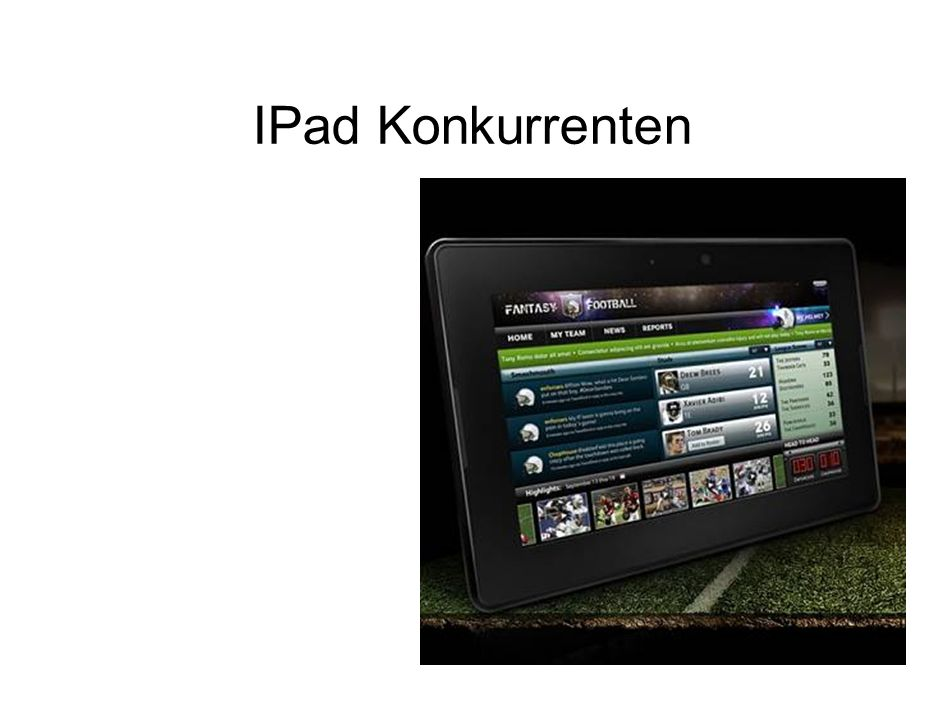 IPad Konkurrenten