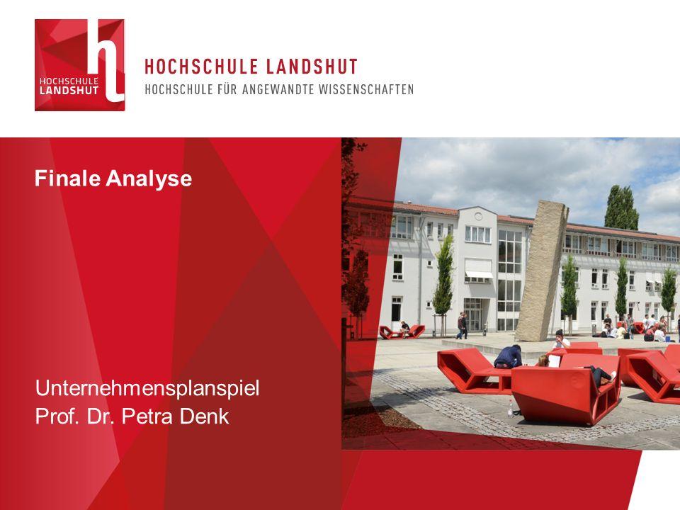 HAW Landshut - Unternehmensplanspiel - Prof.Dr.