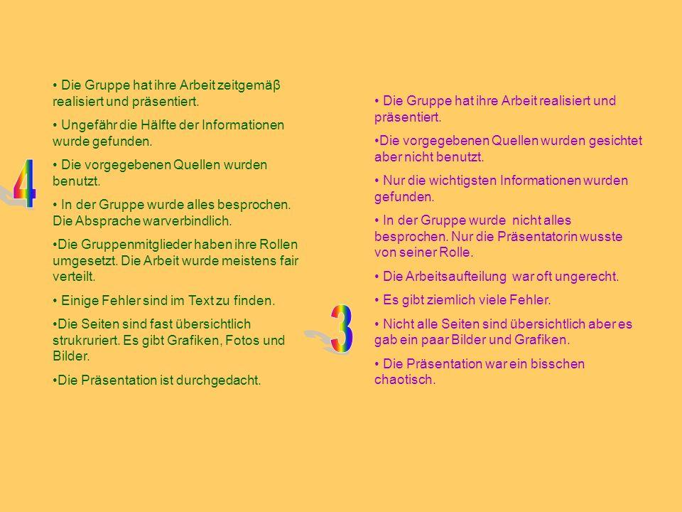 Fazit Ihr habt viele neue Informationen von Berlin erwerbt.