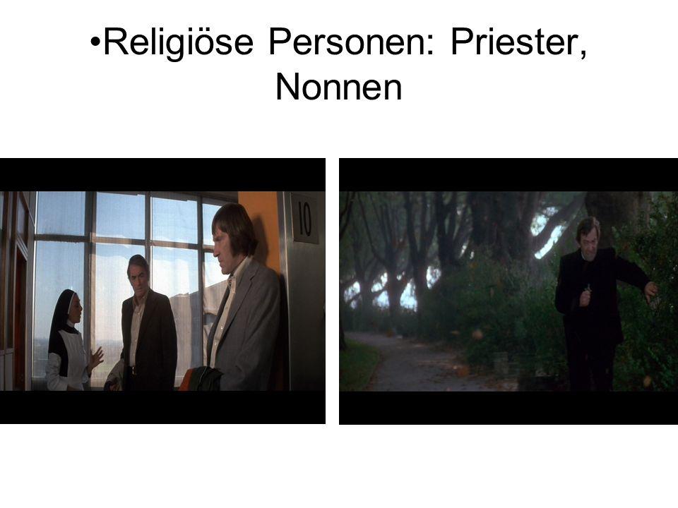Religiöse Personen: Priester, Nonnen