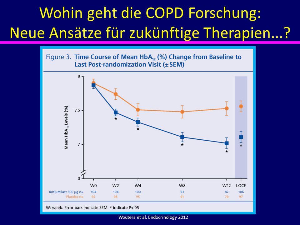Wouters et al, Endocrinology 2012 Wohin geht die COPD Forschung: Neue Ansätze für zukünftige Therapien...?