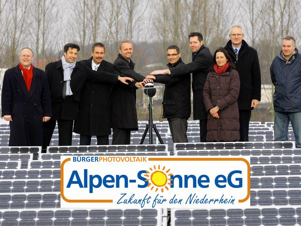 Die Motivation 1 Quelle: Eurostat-Jahrbuch 2008 Alpen-Sonne eG