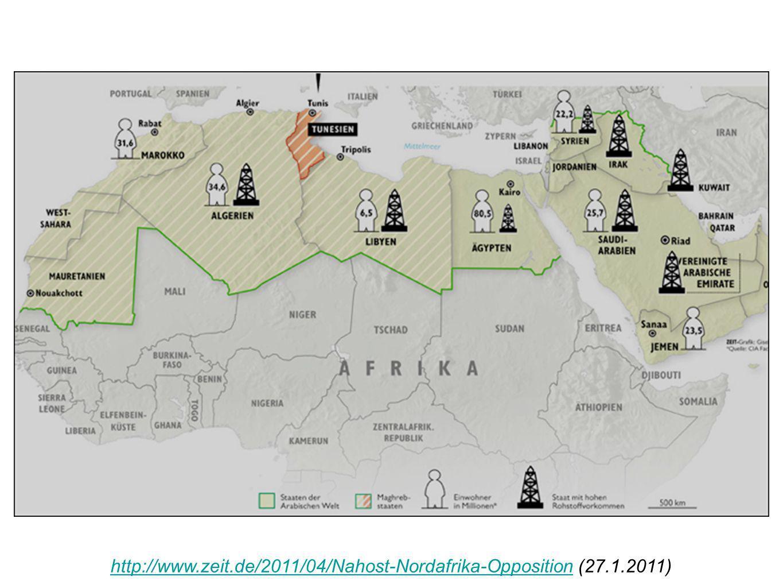 http://www.zeit.de/2011/04/Nahost-Nordafrika-Oppositionhttp://www.zeit.de/2011/04/Nahost-Nordafrika-Opposition (27.1.2011)