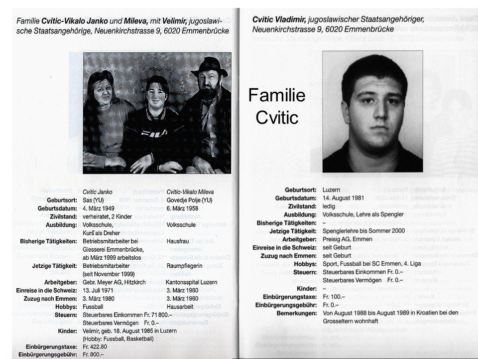 Familie Cvitic