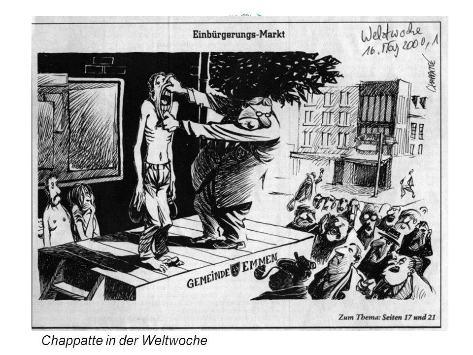 Für alle Einwohner der Schweiz: Bürgerrecht erst mit politischem Bildungsausweis.
