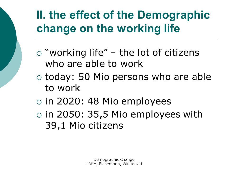 Demographic Change Hötte, Biesemann, Winkelsett II.