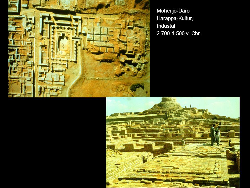 Mohenjo-Daro Harappa-Kultur, Industal 2.700-1.500 v. Chr.