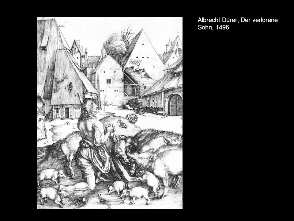Albrecht Dürer, Der verlorene Sohn, 1496