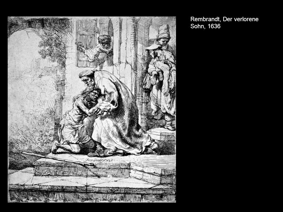 Rembrandt, Der verlorene Sohn, 1636