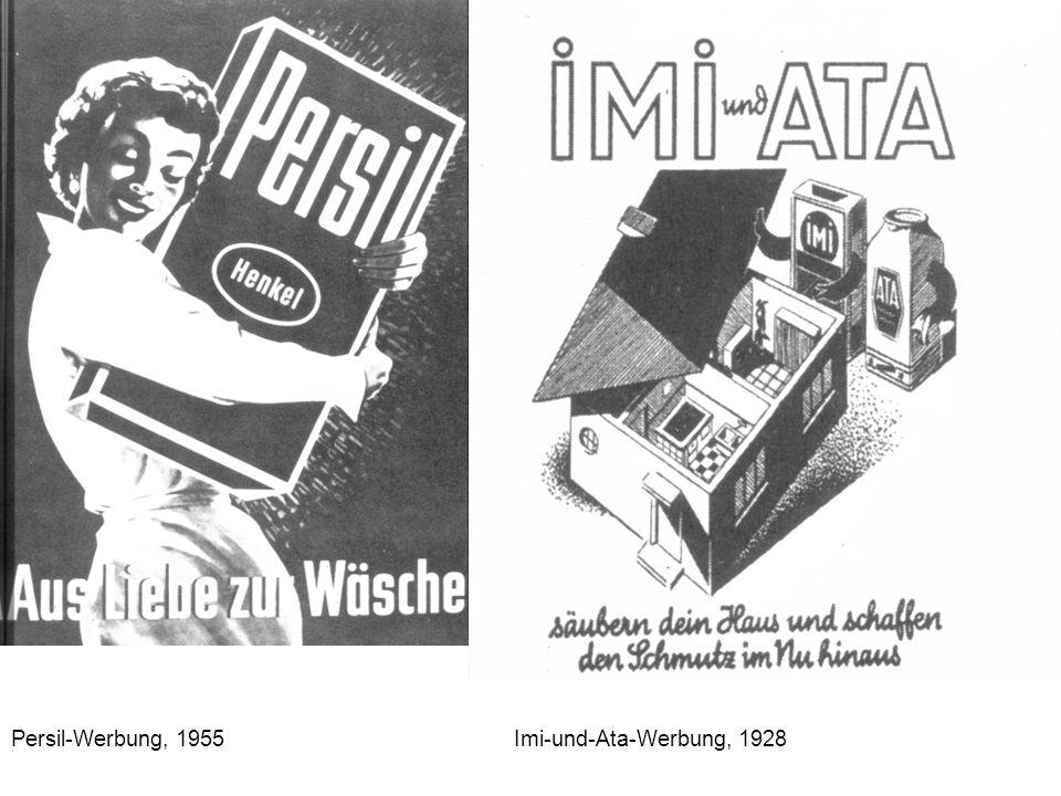 Persil-Werbung, 1955 Imi-und-Ata-Werbung, 1928
