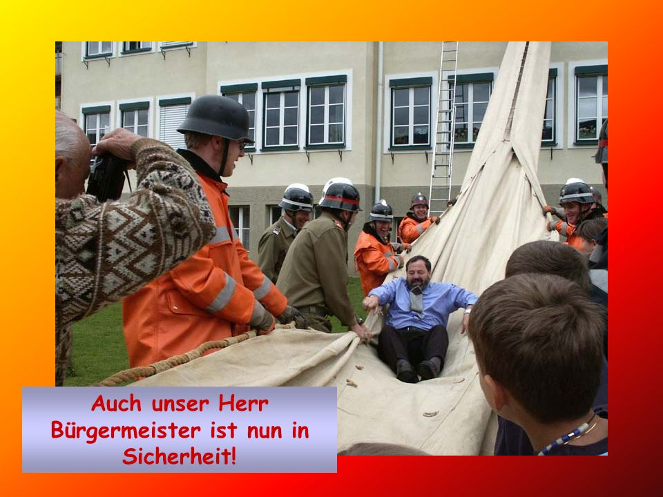 In Sicherheit