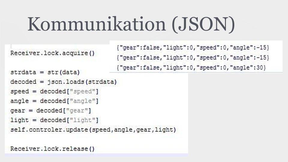 Kommunikation (JSON)