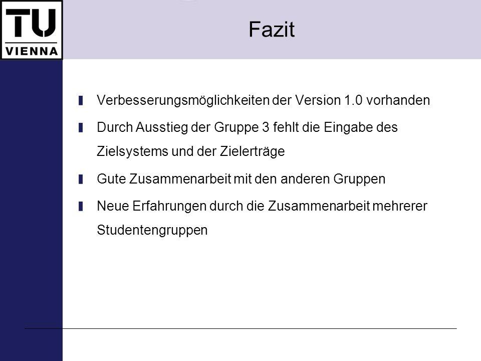 Hackl Martin Haubner Philipp Kovacs Patrick Zornig Claus 267.049 E-Valuation – Implementierung ökomomischer Bewertungmethoden, SS 2008