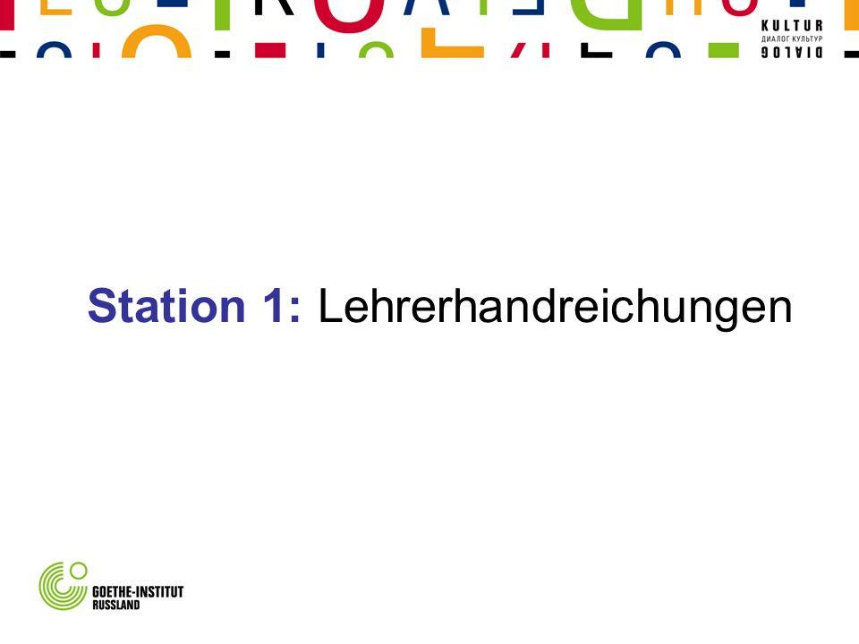 Station 2: Lehrsituationen