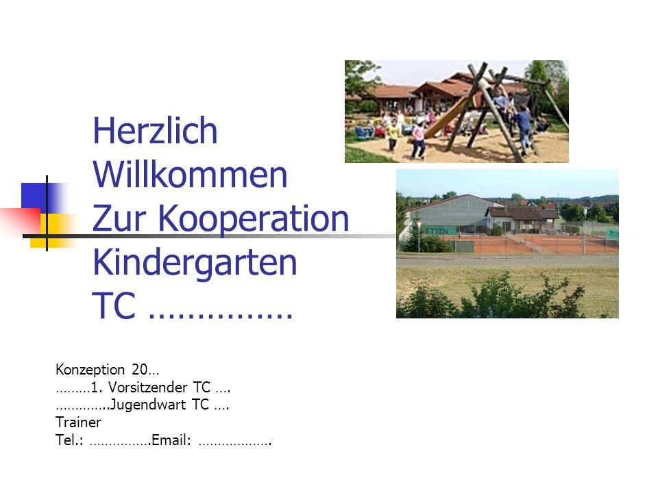 Herzlich Willkommen Zur Kooperation Kindergarten TC …………… Konzeption 20… ………1.