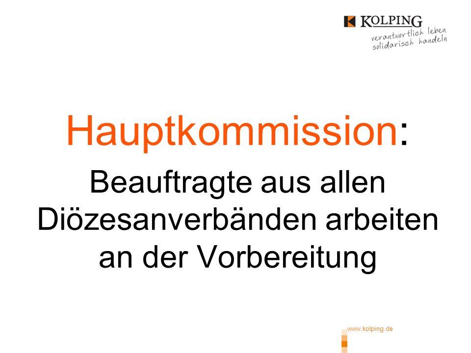 www.kolping.de | 16 Uns erwartet ein großartiges Treffen mit begeisternden Erlebnismöglichkeiten, Begegnungen, Ermutigung und Anregungen für das persönliche Leben sowie für das verbandliche Arbeiten