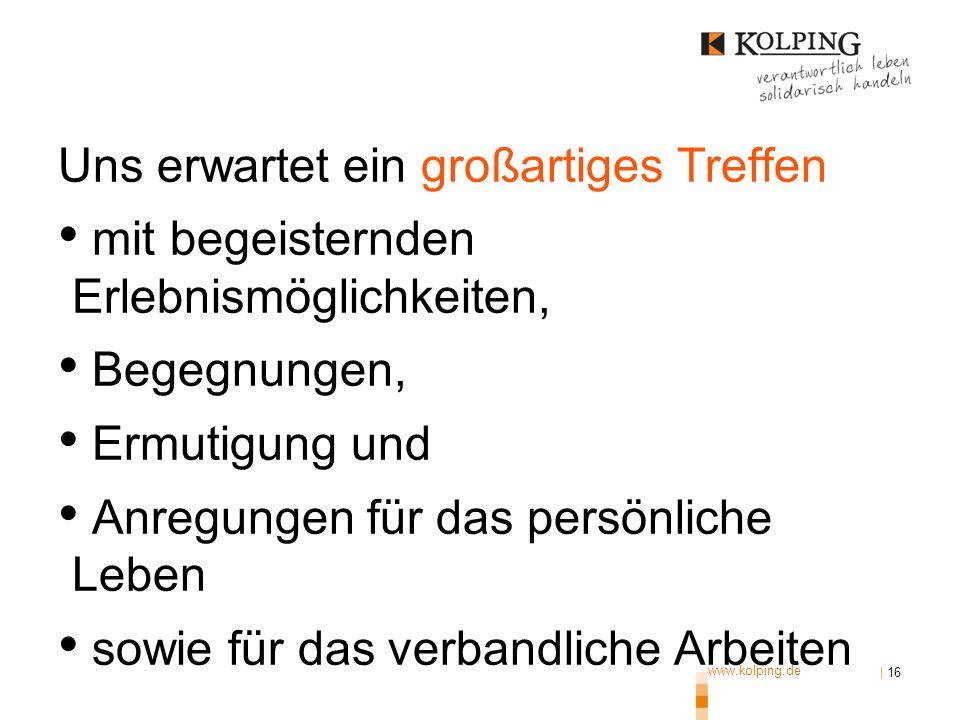 www.kolping.de | 16 Das ist nicht kostendeckend.