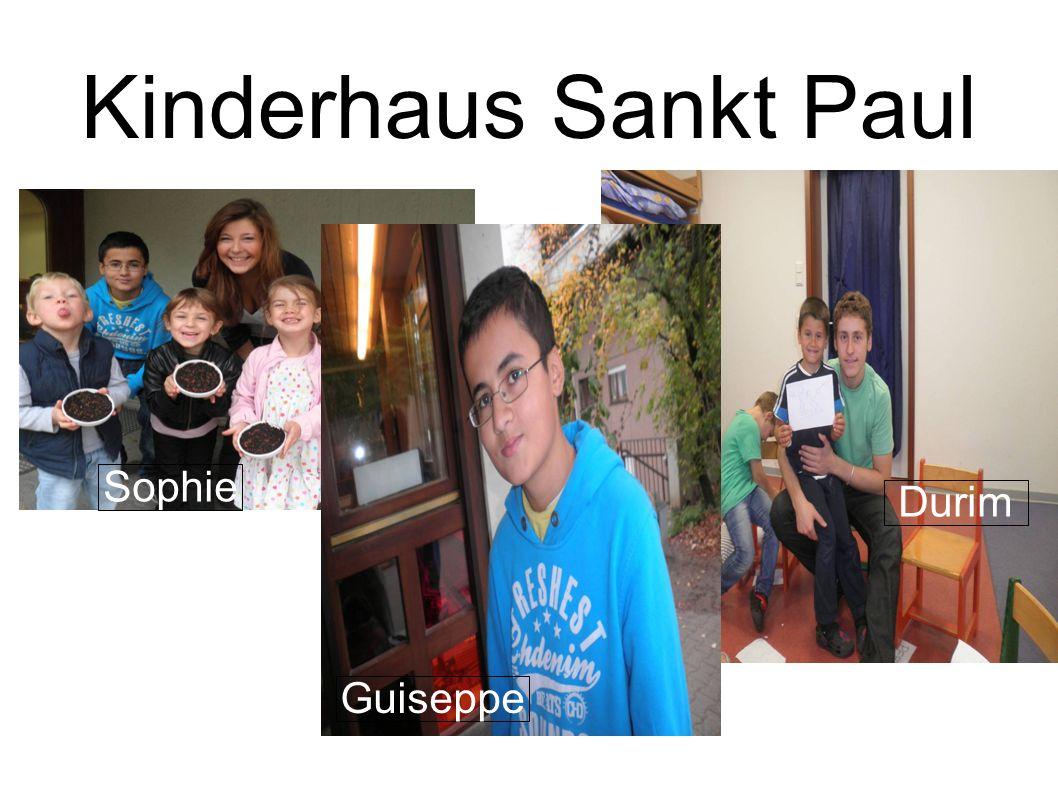 Projektgruppe Flowerbox Kinderhaus Sankt Paul Sophie Guiseppe Durim