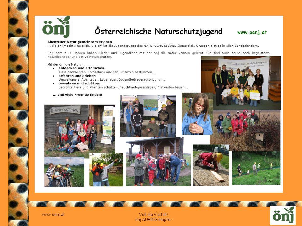 www.oenj.at Voll die Vielfalt! önj-AURING-Hüpfer