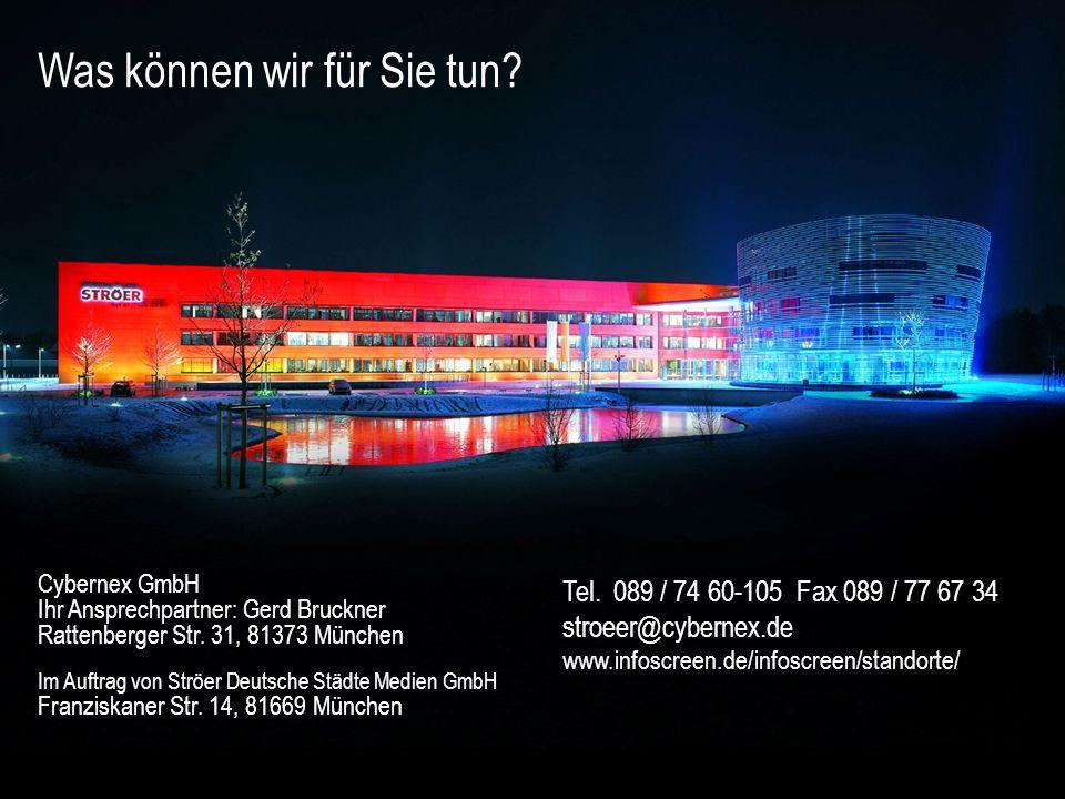 Was können wir für Sie tun. Cybernex GmbH Ihr Ansprechpartner: Gerd Bruckner Rattenberger Str.