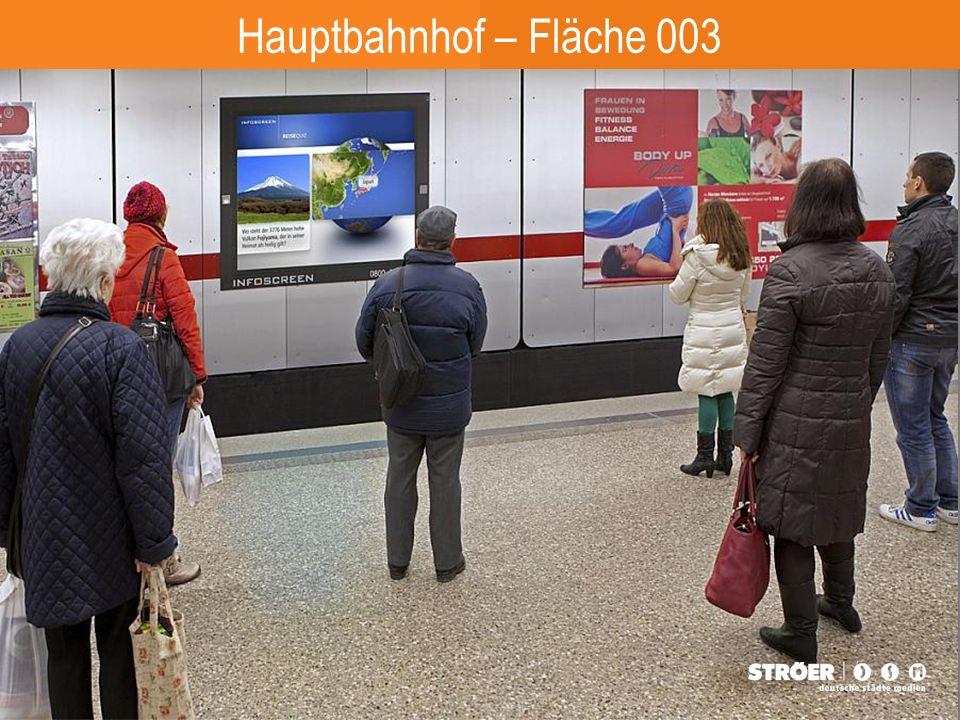 Hauptbahnhof – Fläche 003