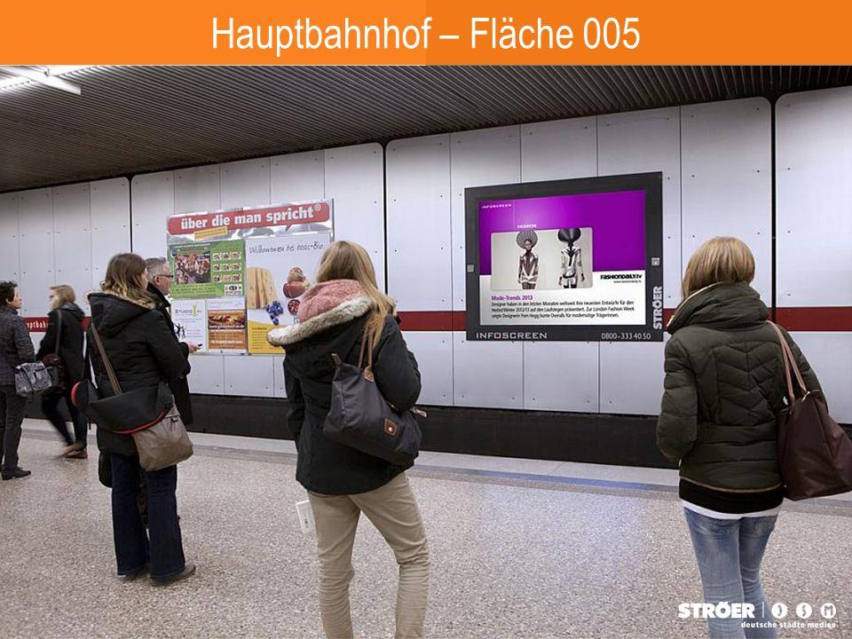 Hauptbahnhof – Fläche 005