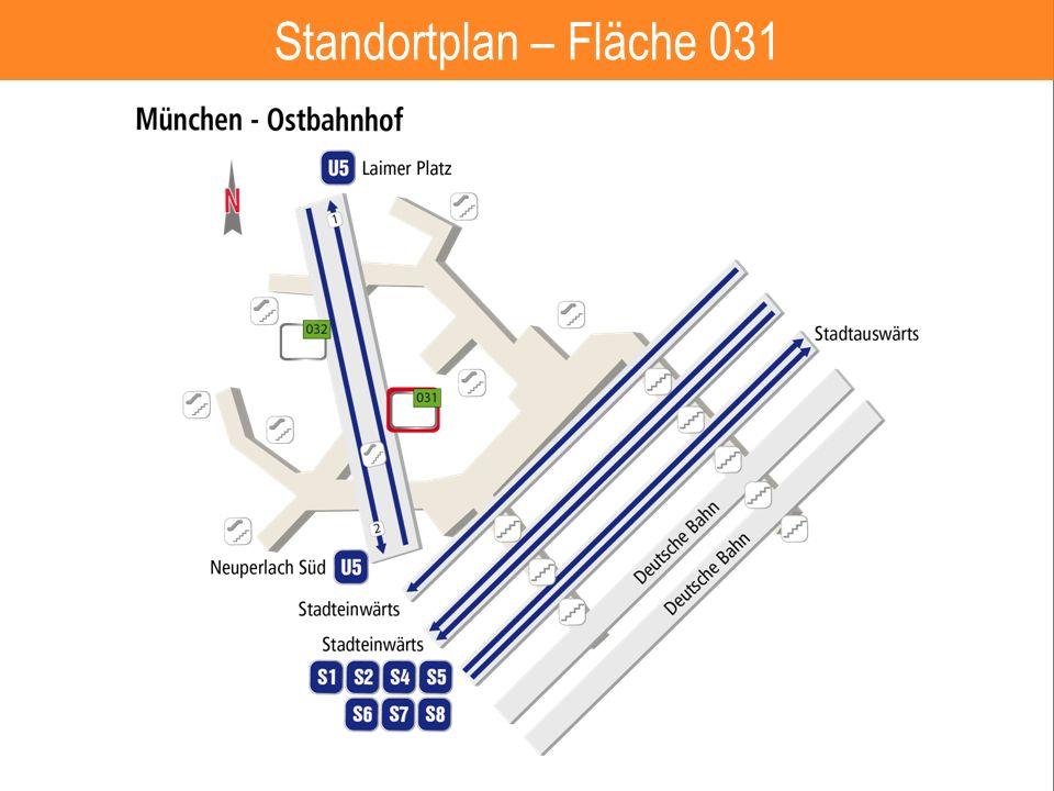 8 Standortplan – Fläche 031
