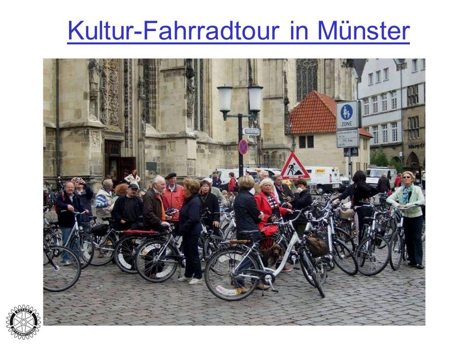 Kultur-Fahrradtour in Münster
