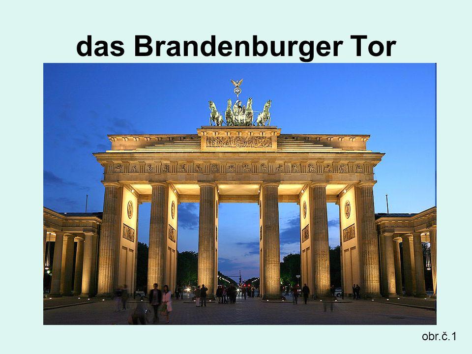 das Brandenburger Tor obr.č.1