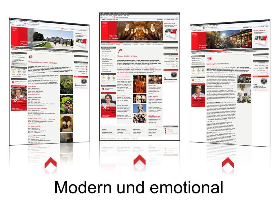 Modern und emotional
