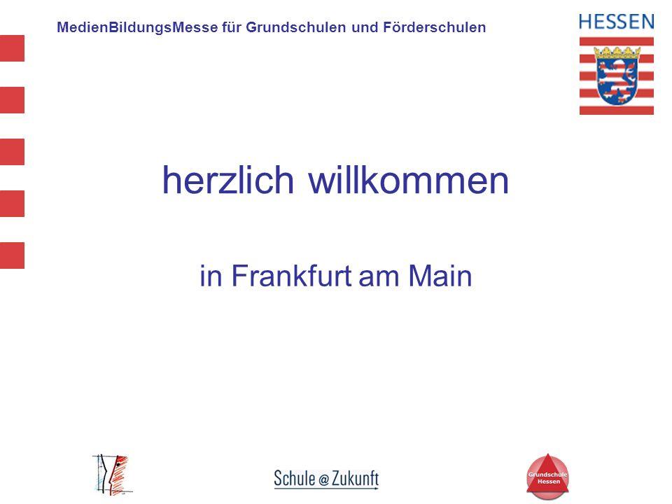 MedienBildungsMesse für Grundschulen und Förderschulen 10.30 Uhr - 11.15 Uhr Vortrag von Prof.