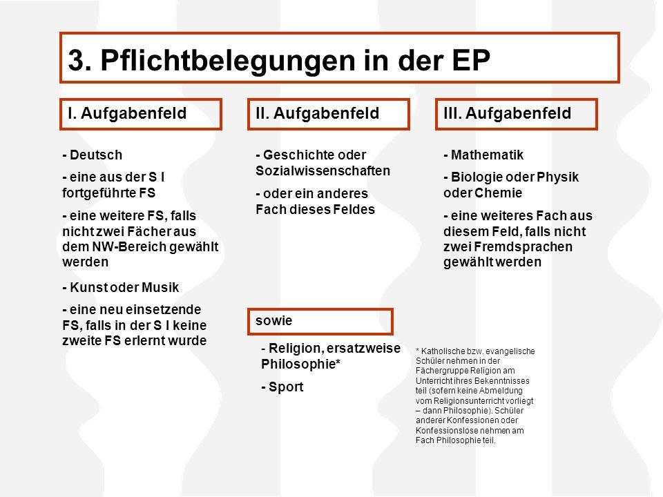 - Deutsch I.AufgabenfeldII. AufgabenfeldIII.