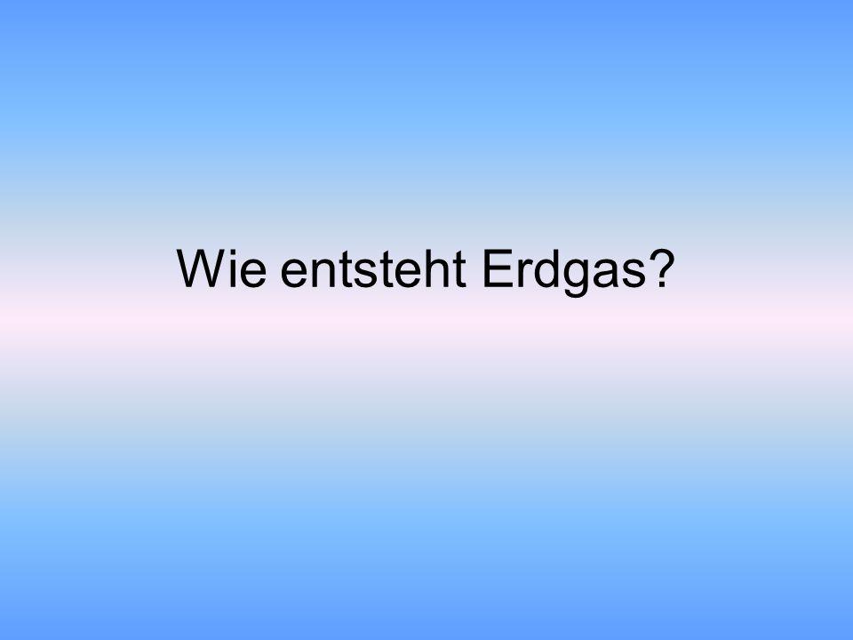 Wie entsteht Erdgas?
