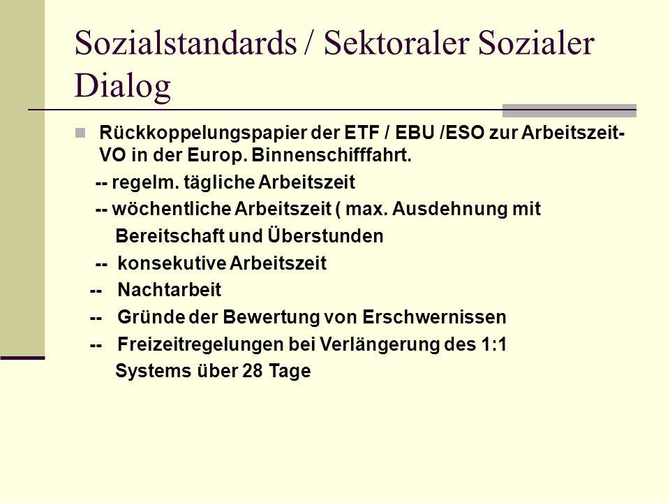 Social Standard / Sect.Social Dialog Draft paper ETF / EBU / ESO on working-Reg.