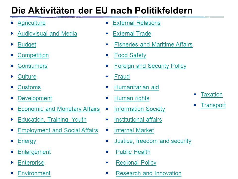 Von einer Wirtschaftsunion zur europäischen Sozialunion.