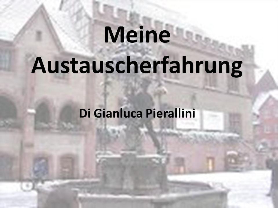 Präsentation Hallo, ich bin Gianluca, ich bin 13 Jahre alt und das ist meine Präsentation über den kulturellen Austausch mit der Montessori-Schule Göttingen