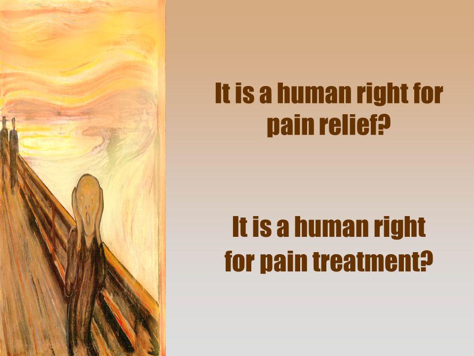 Darf Schmerz sein? Nein Ja