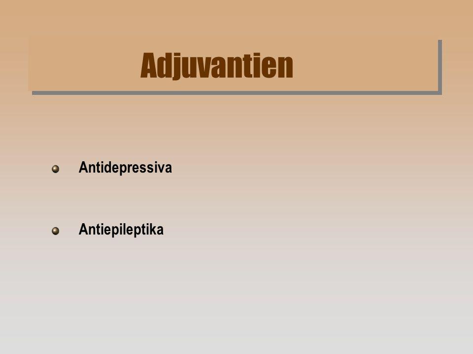 Adjuvantien Antidepressiva Antiepileptika