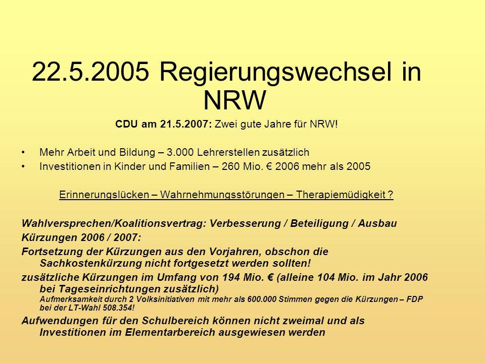 Der Kiebitz: Der Vogel des Jahres 1996 Das KiBiz : Das Kuckucksei des Jahres 2007: Gesetz zur frühen Bildung und Förderung von Kindern