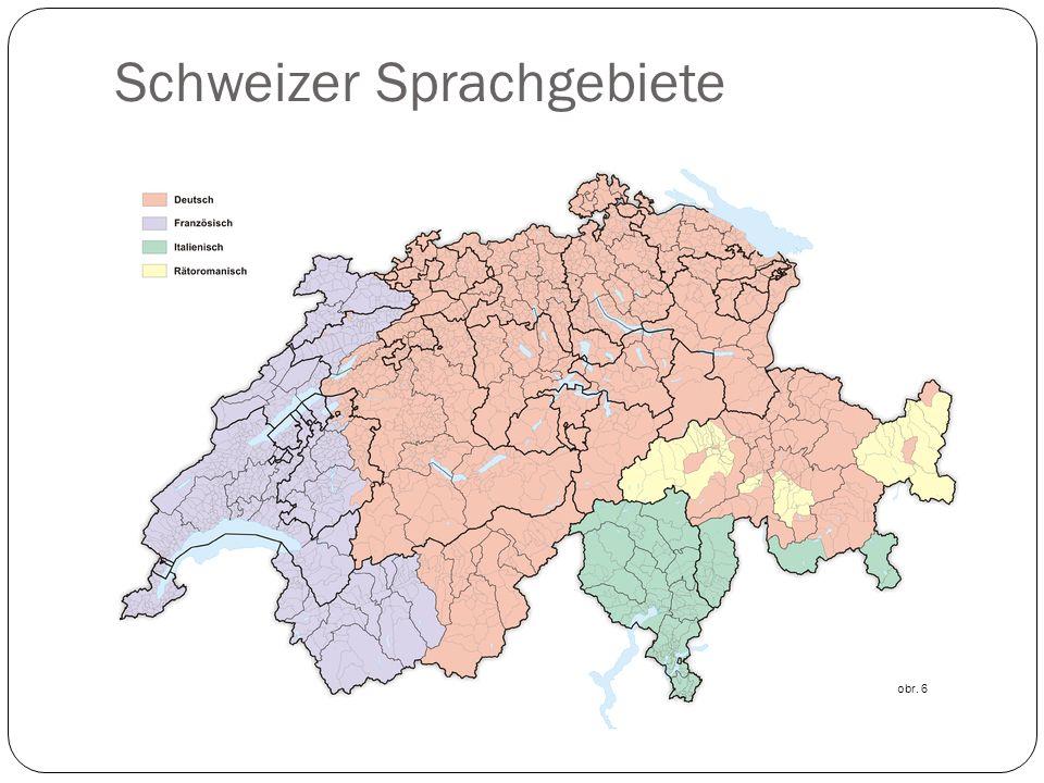 Schweizer Sprachgebiete obr. 6