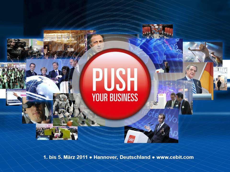 Seite 1 1. bis 5. März 2011 Hannover, Deutschland www.cebit.com