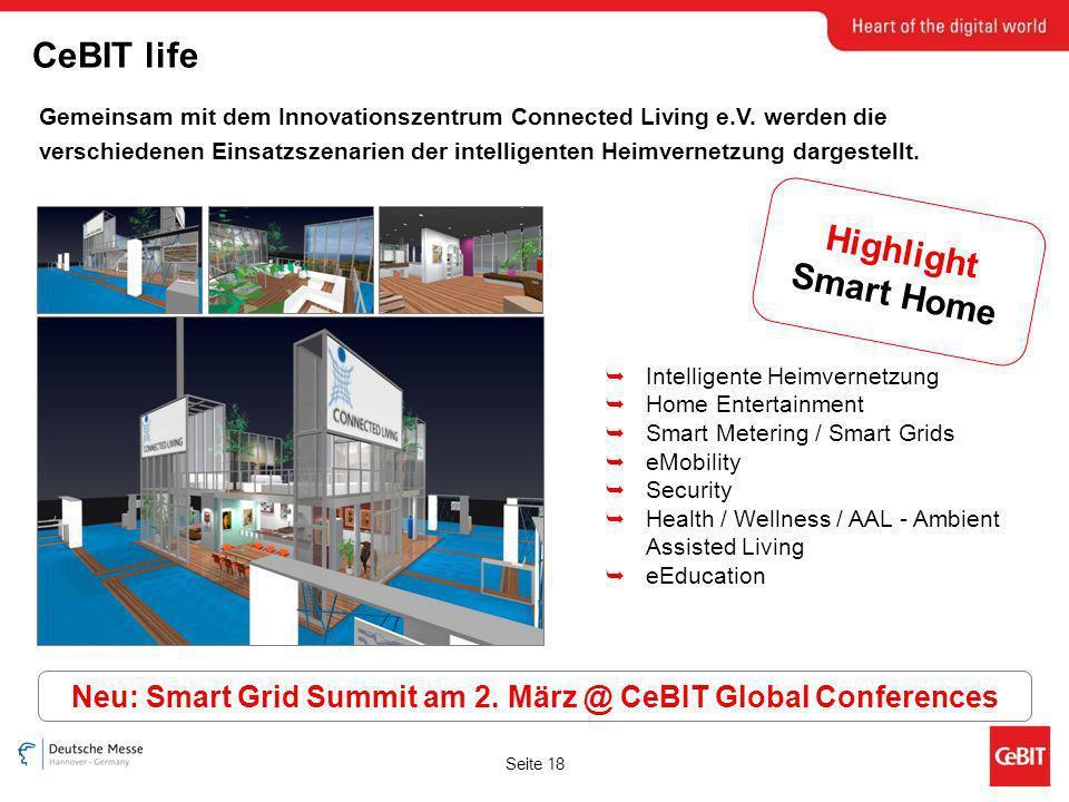 Seite 18 Gemeinsam mit dem Innovationszentrum Connected Living e.V.