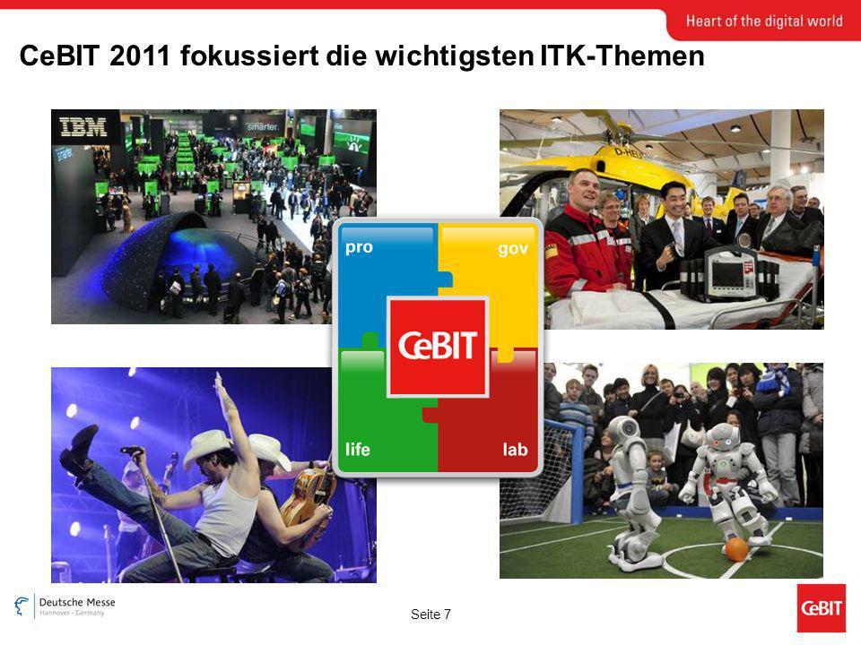 Seite 7 CeBIT 2011 fokussiert die wichtigsten ITK-Themen