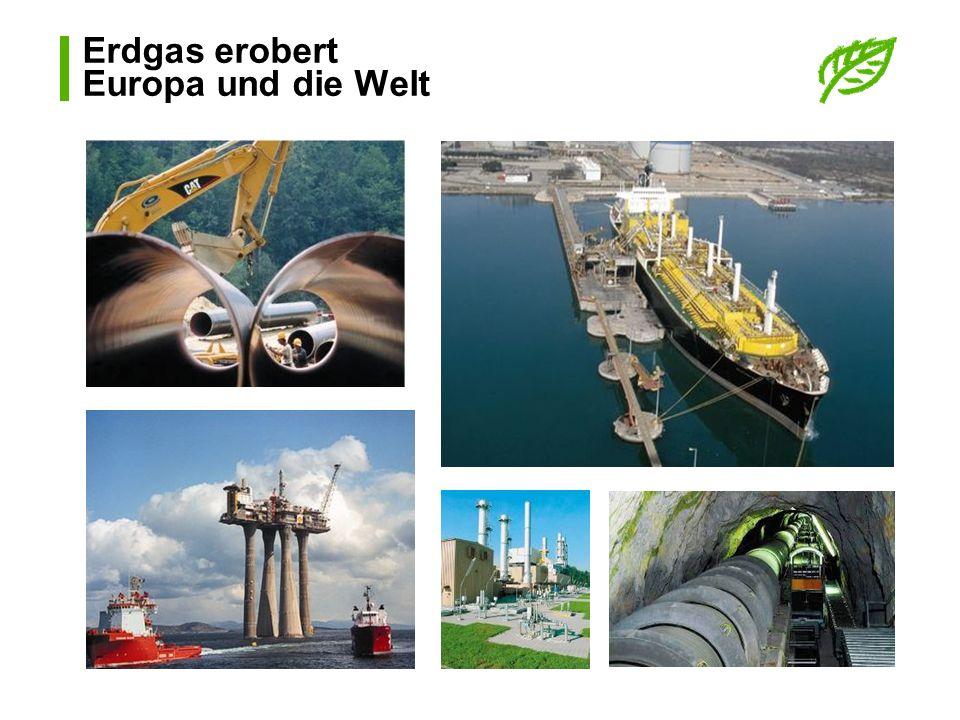 Erdgas in der Schweiz Infrastruktur