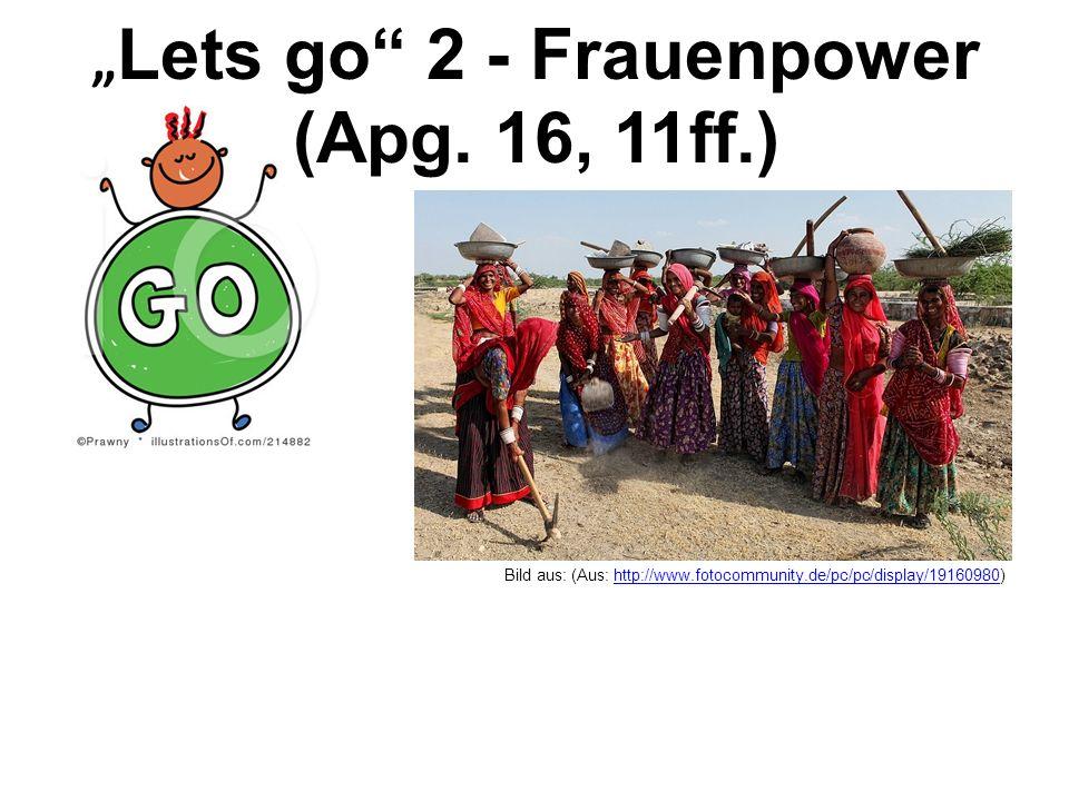 Lets go 2 - Frauenpower (Apg. 16, 11ff.) Bild aus: (Aus: http://www.fotocommunity.de/pc/pc/display/19160980)http://www.fotocommunity.de/pc/pc/display/