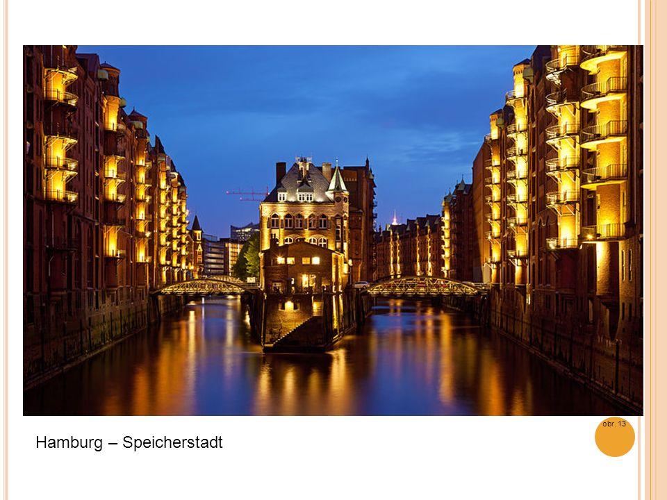 Hamburg – Speicherstadt obr. 13
