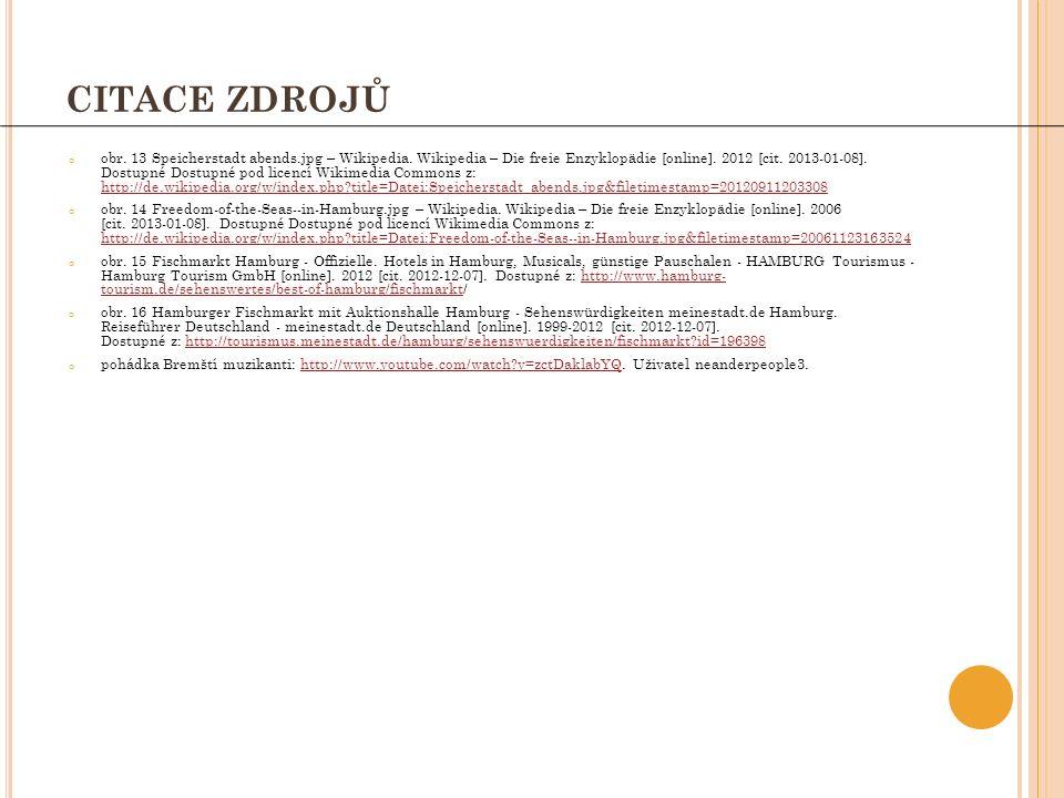CITACE ZDROJŮ o obr. 13 Speicherstadt abends.jpg – Wikipedia.