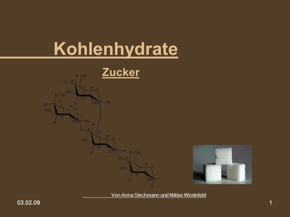 03.02.091 Kohlenhydrate Zucker Von Anna Stechmann und Niklas Wüstefeld